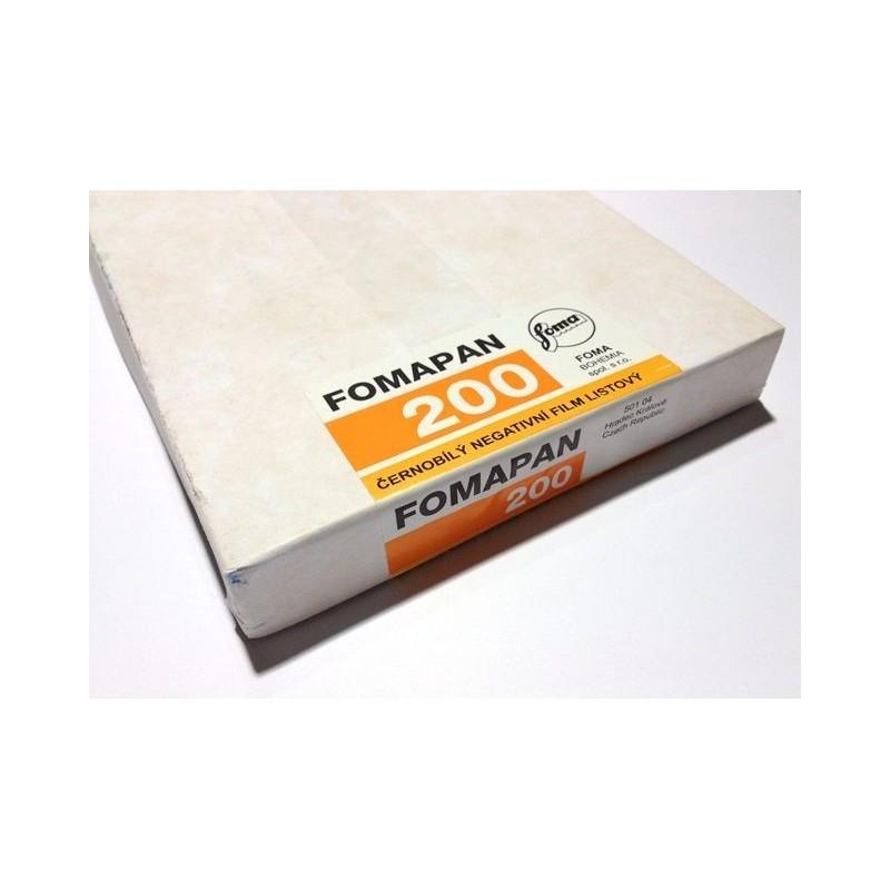 "Plan film 200 ISO 4x5"""
