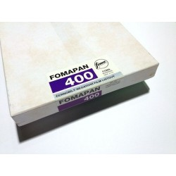 "Plan film 400 ISO 5x7"" / 50 pf"
