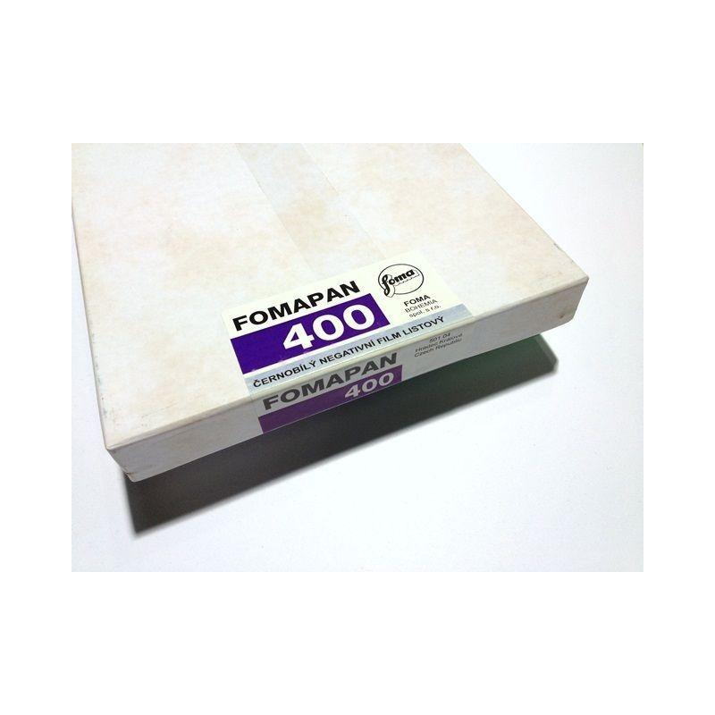 "Plan film 400 ISO 8x10"" ( 20x25 )"